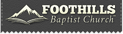 Foothills Baptist Church: General Giving/Missions