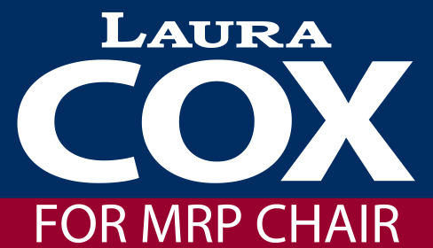 Laura Cox for Chair: Laura Cox for Chair