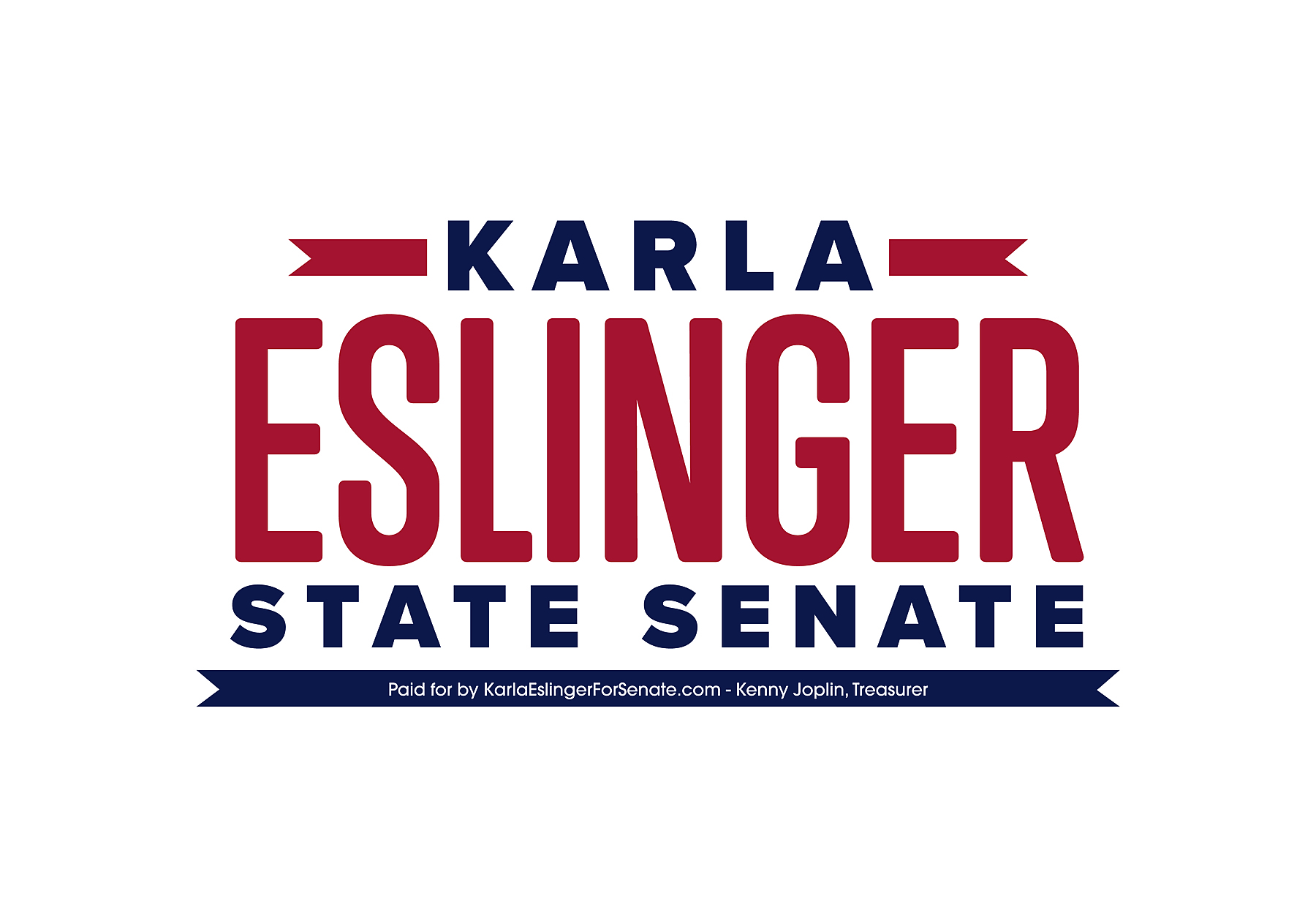 KarlaEslingerforSenate.com: General Fund