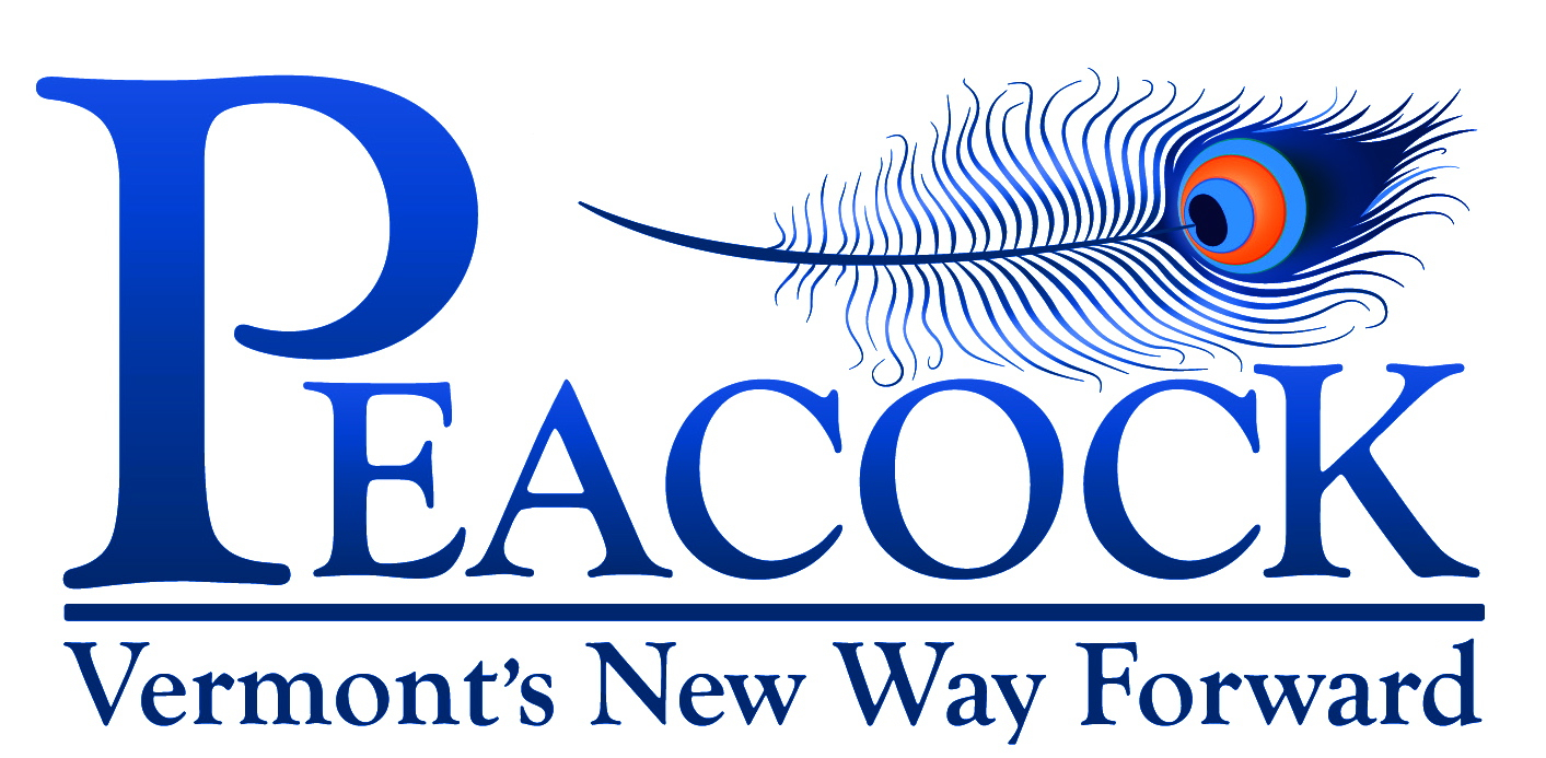 Peacock for Senate: Vermont's New Way Forward