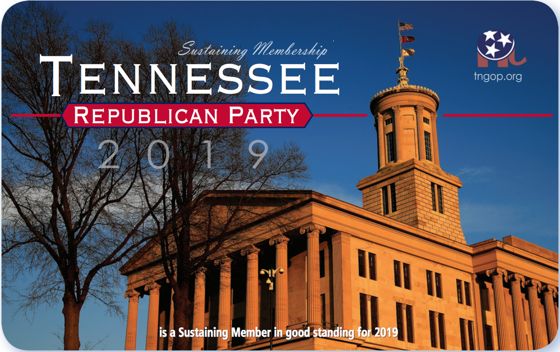 Tennessee Republican Party: Tennessee GOP 2019 - Sustaining Member