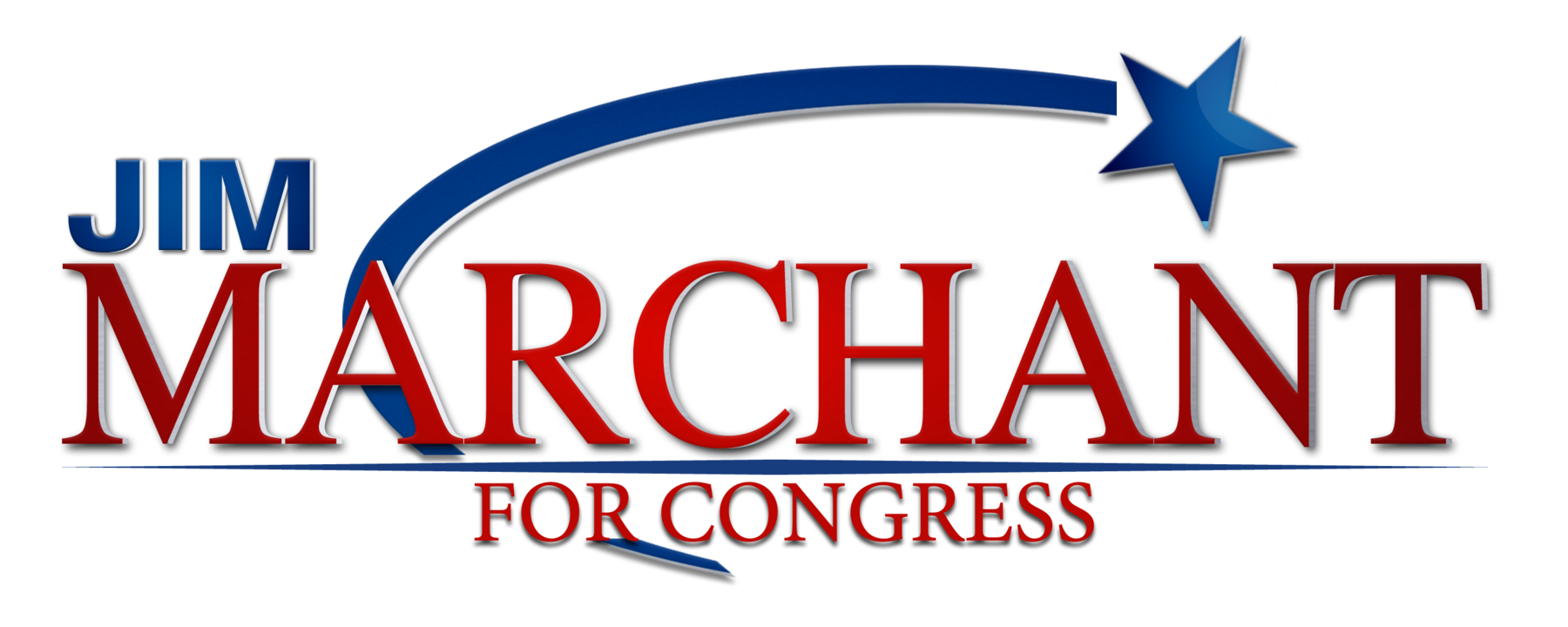 Marchant for Congress: Website Splash