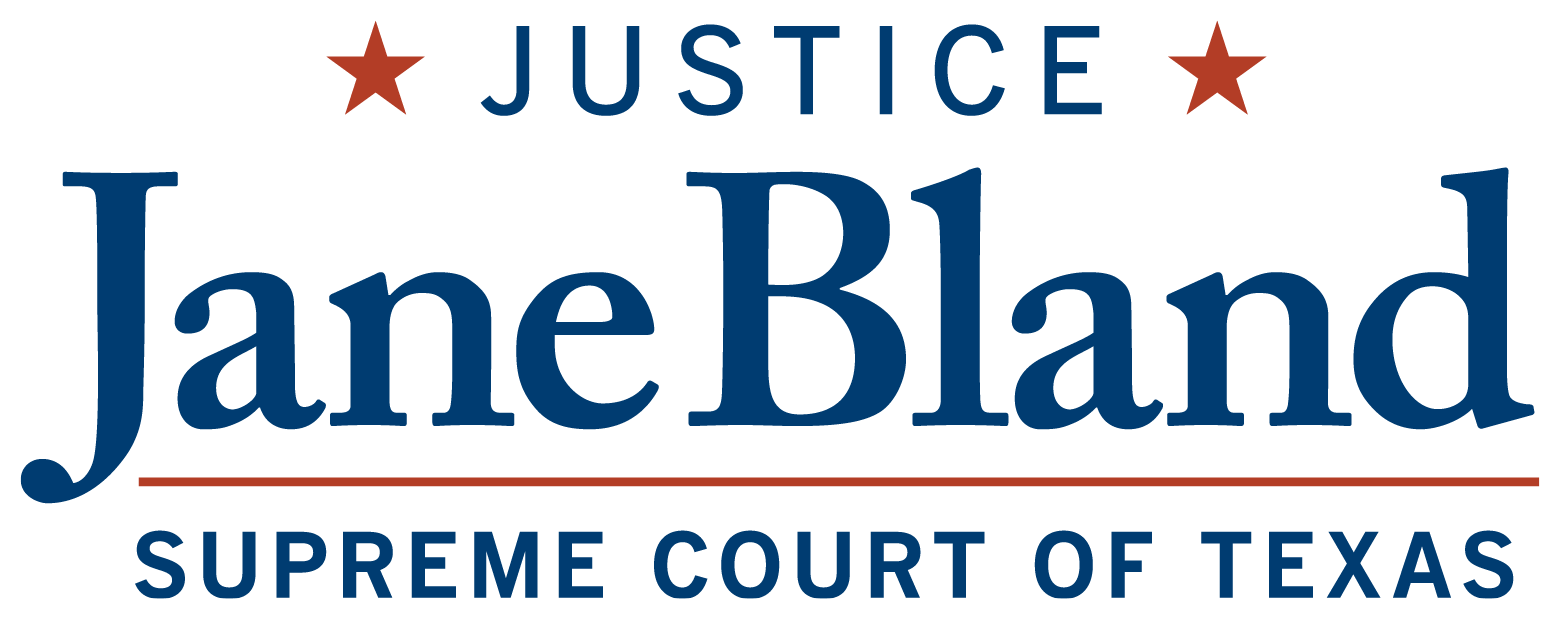 Justice Jane Bland Campaign: Website