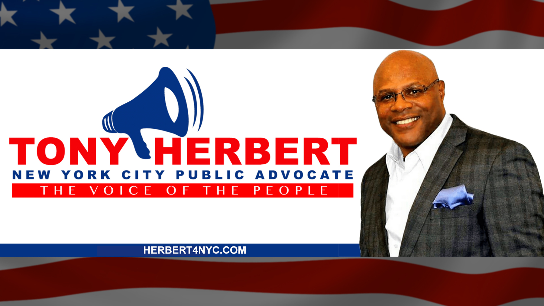 Tony Herbert for Public Advocate: Website Donations