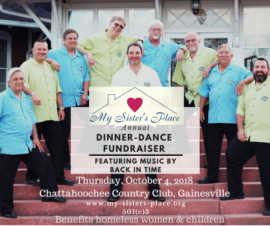 My Sister's Place of Gainesville: My Sister's Place 2018 Dinner-Dance Fundraiser