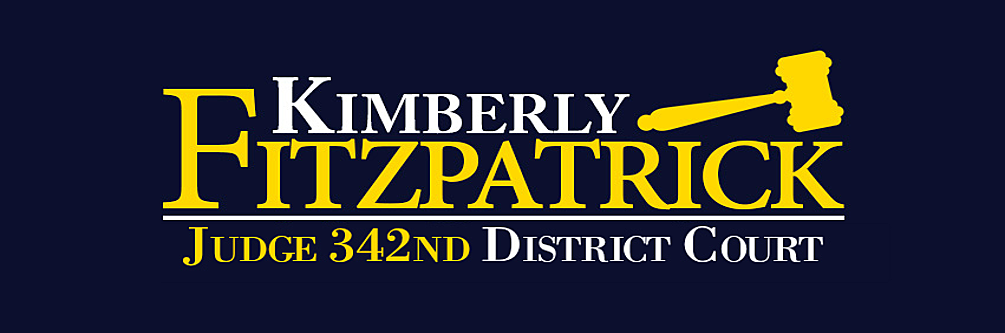 Kimberly Fitzpatrick Campaign: Kimberly Fitzpatrick for 342nd District Court