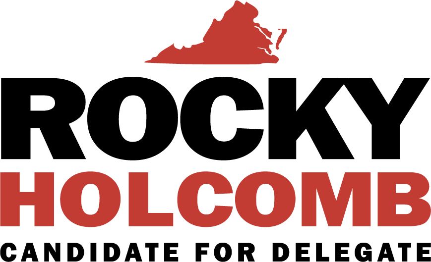 ROCKY HOLCOMB FOR DELEGATE: New Campaign