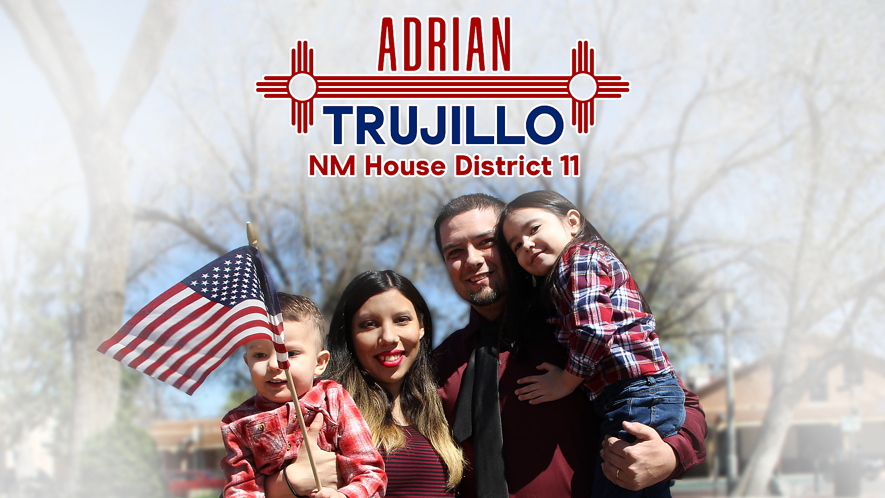 Adrian Trujillo Election 2020: Homepage