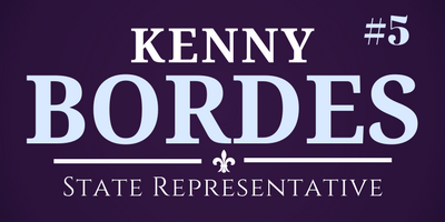 Committee to Elect Kenny Bordes: Kenny Bordes Campaign Fund