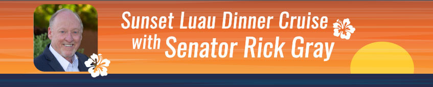 Vote Rick Gray Senate: Sunset Dinner Cruise