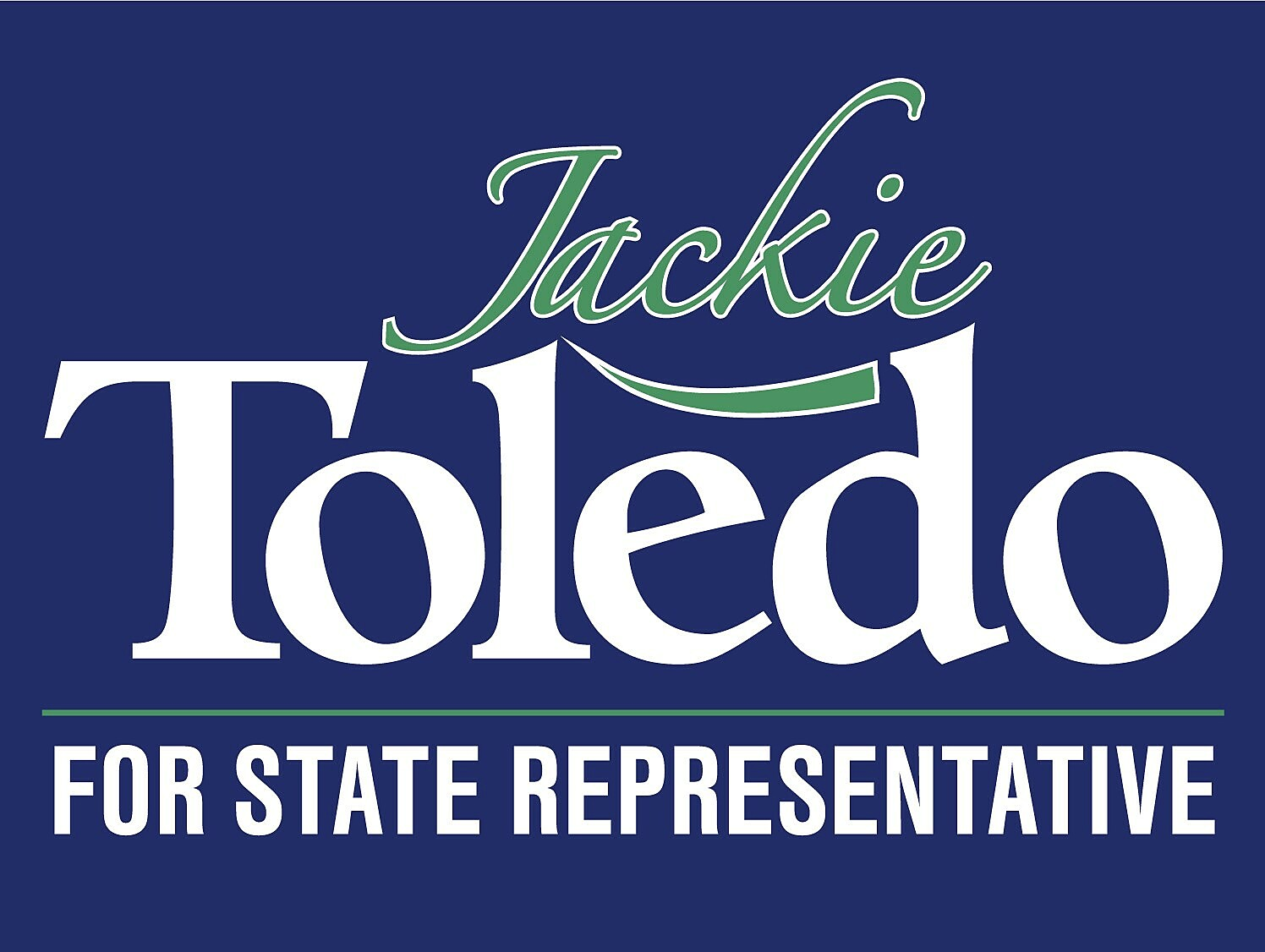 Jackie Toledo Campaign: Jackie Toledo for State House