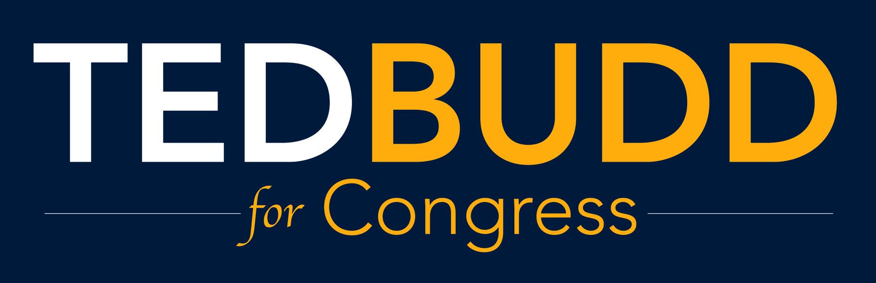 Ted Budd for Congress: Donate $25 Today - Show Ted Your Support