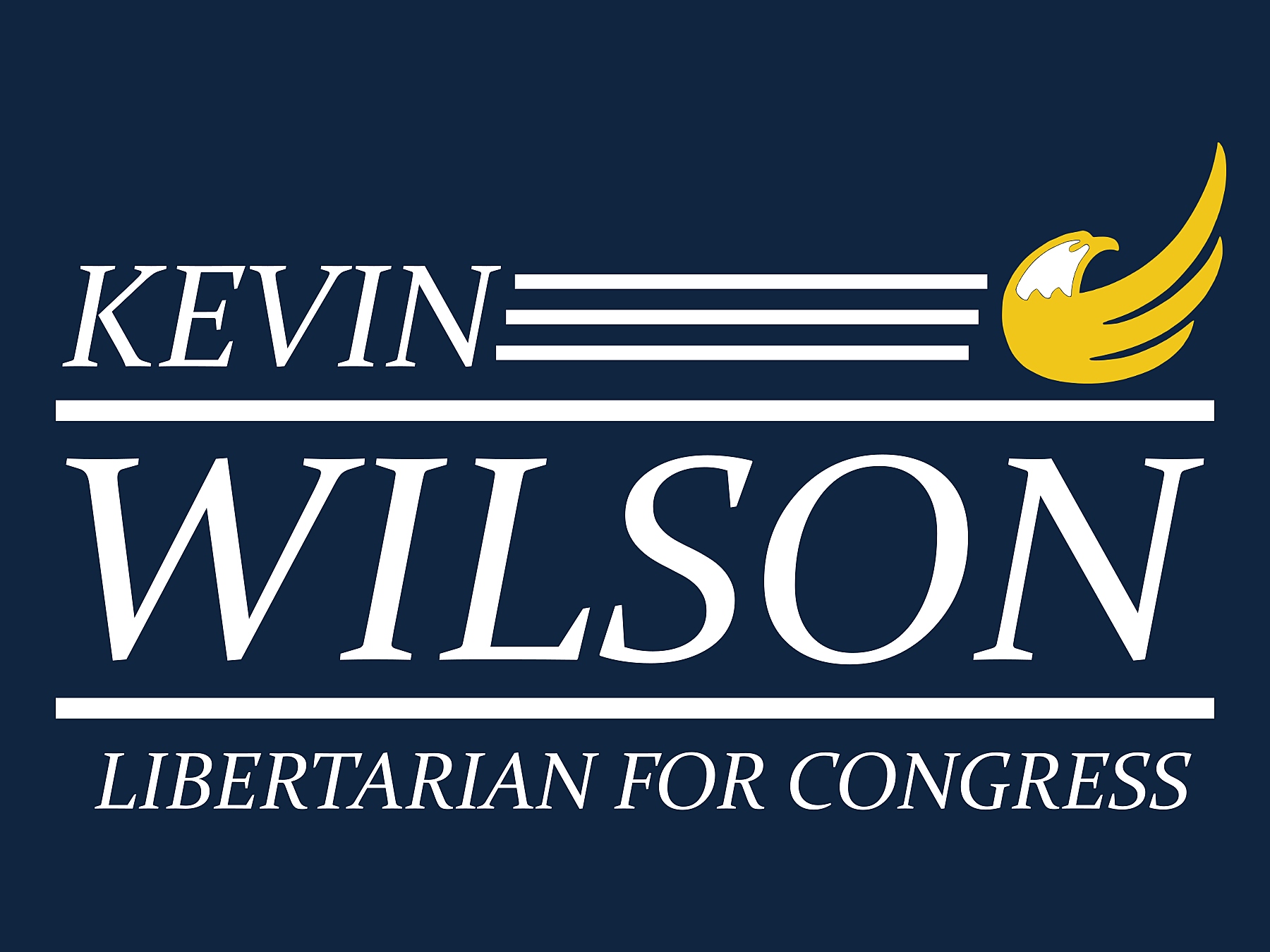Kevin Wilson for Congress: General Fund