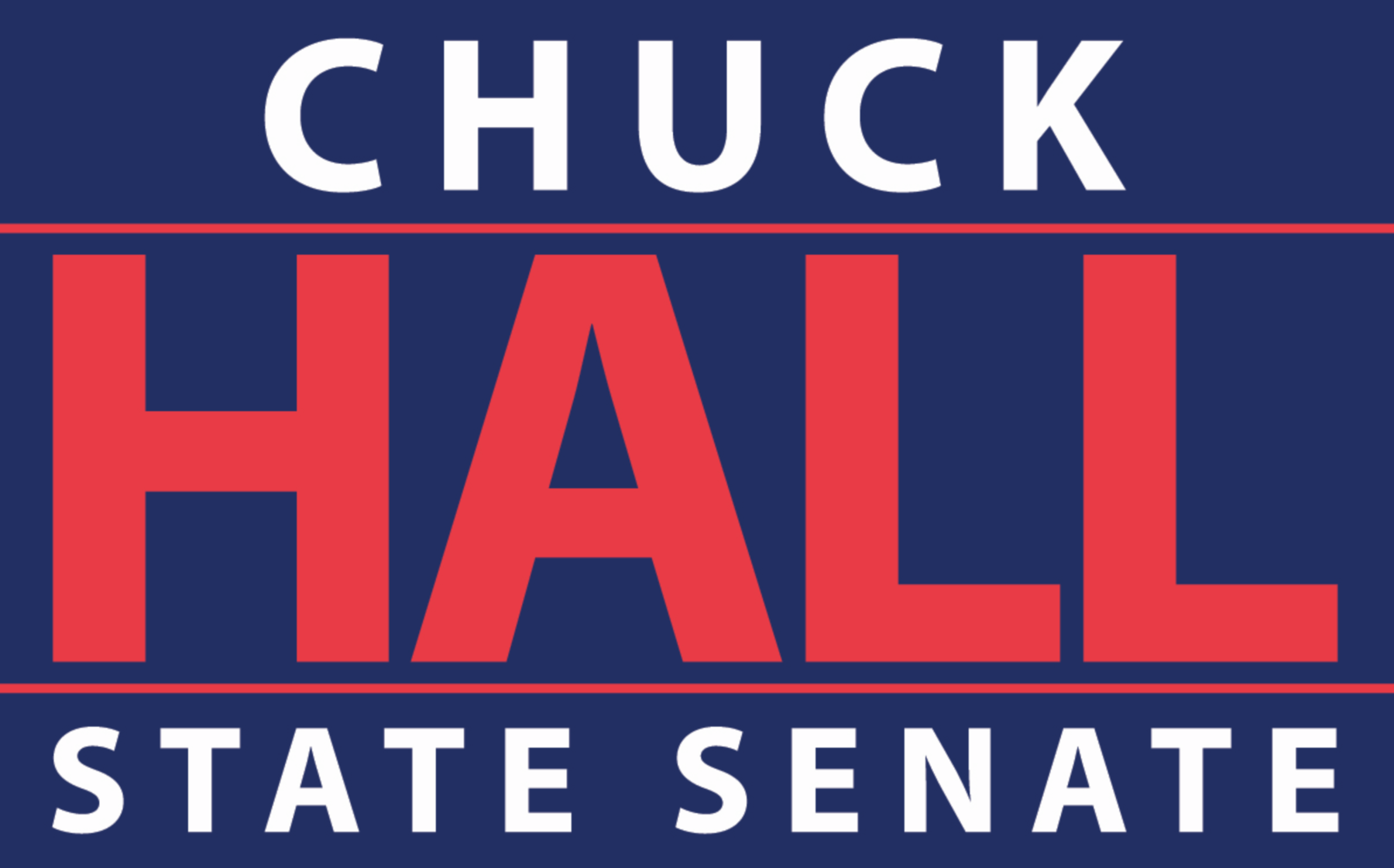 Chuck Hall for State Senate 2018: donate online