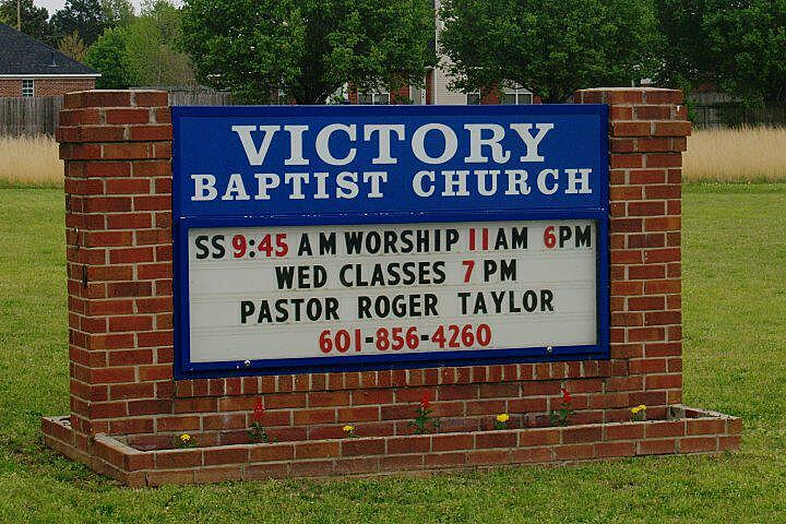 Victory Baptist: Victory Baptist Church General Donations