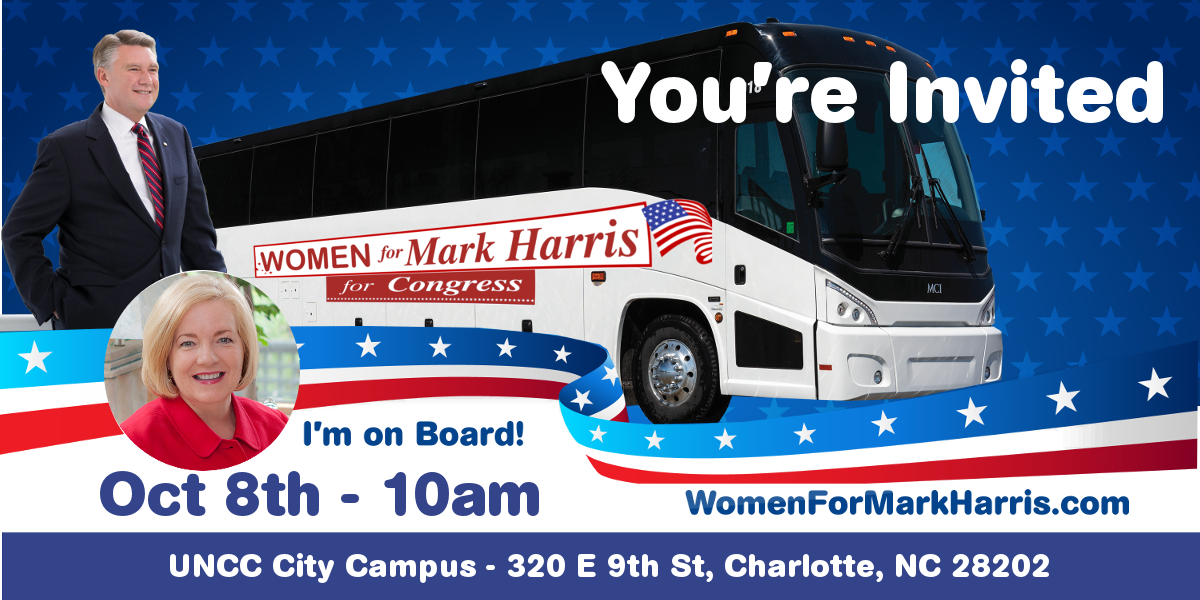 NC Values Coalition: Women for Mark Harris Bus Tour