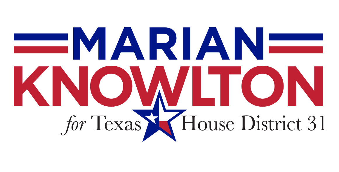 MarianforTexas: Website Splash