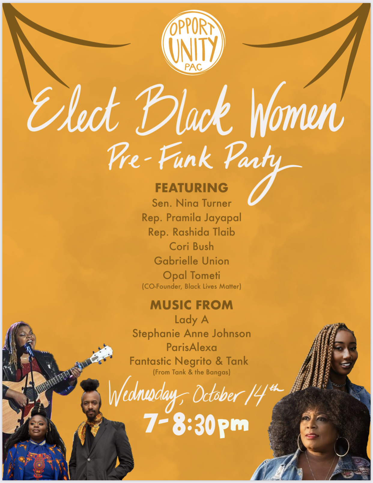 Opportunity PAC: Elect Black Women Pre-Funk Party