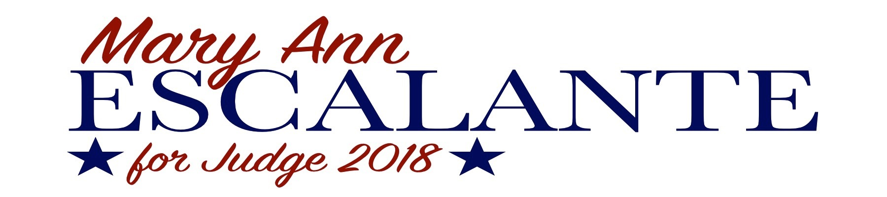 Mary Ann Escalante for Judge 2018: General Fund