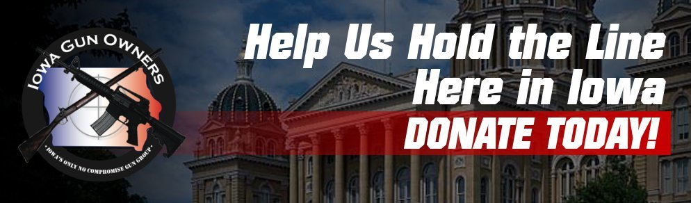 Iowa Gun Owners: Generic Donate Page