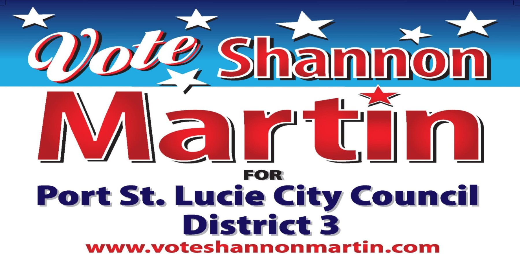 Shannon Martin Campaign for PSL City Council District 3: General Fund