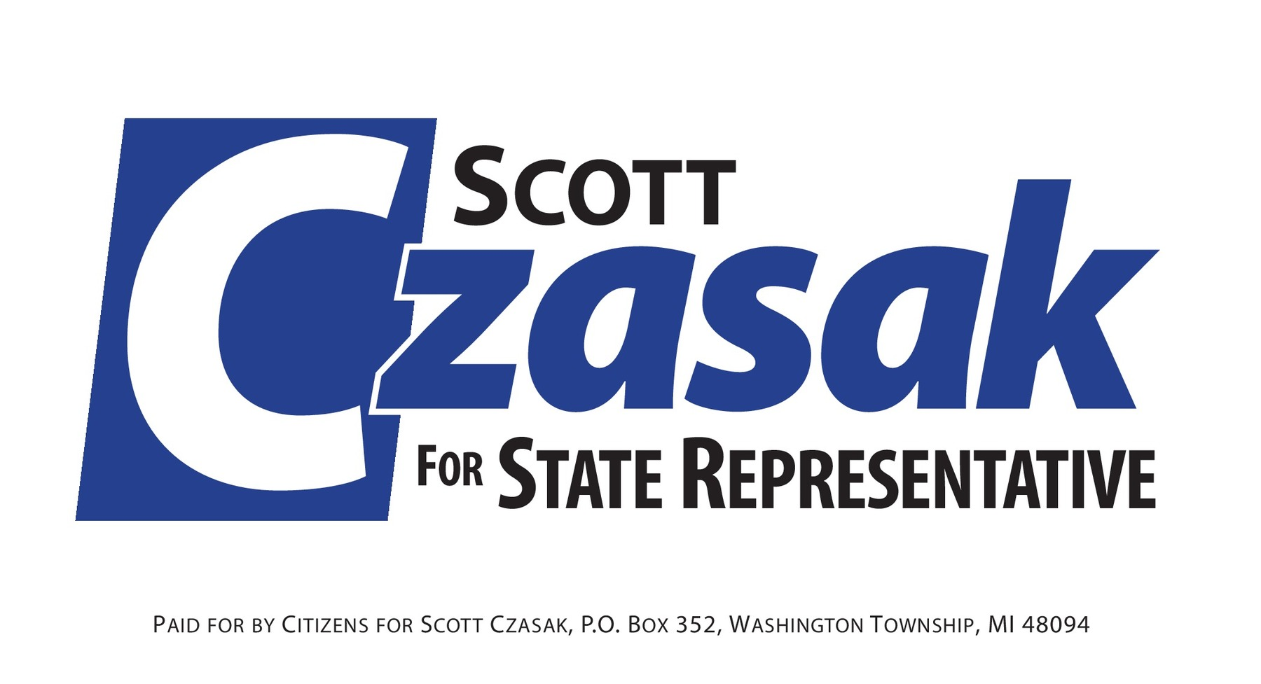 Scott Czasak for State Representative: Support Scott!