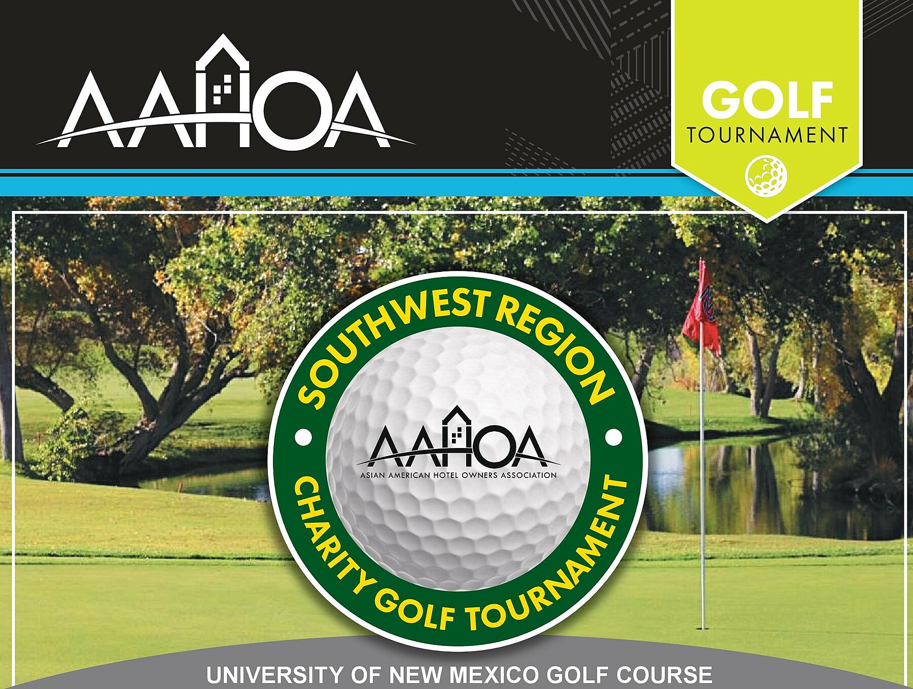 Asian American Hotel Owners Association, Inc.: 2020 Southwest Charity Golf- Attendee