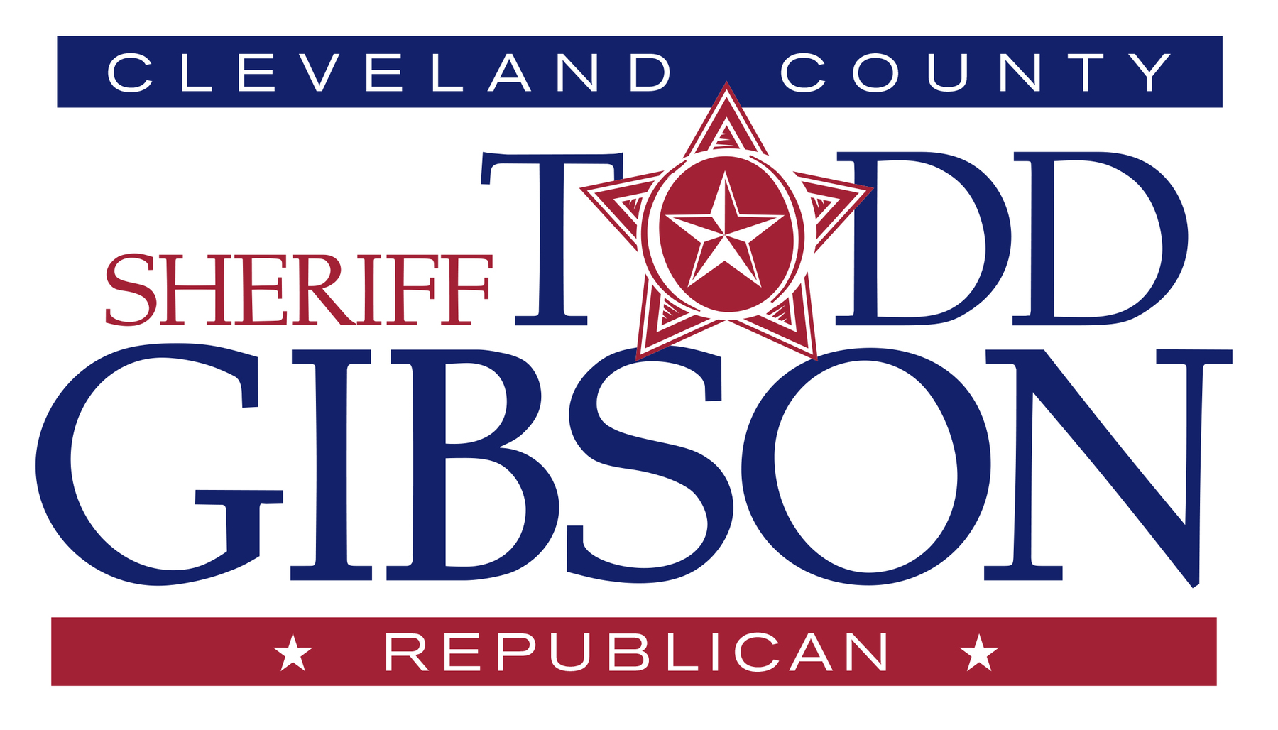 Gibson for Sheriff: Todd Gibson for Sheriff