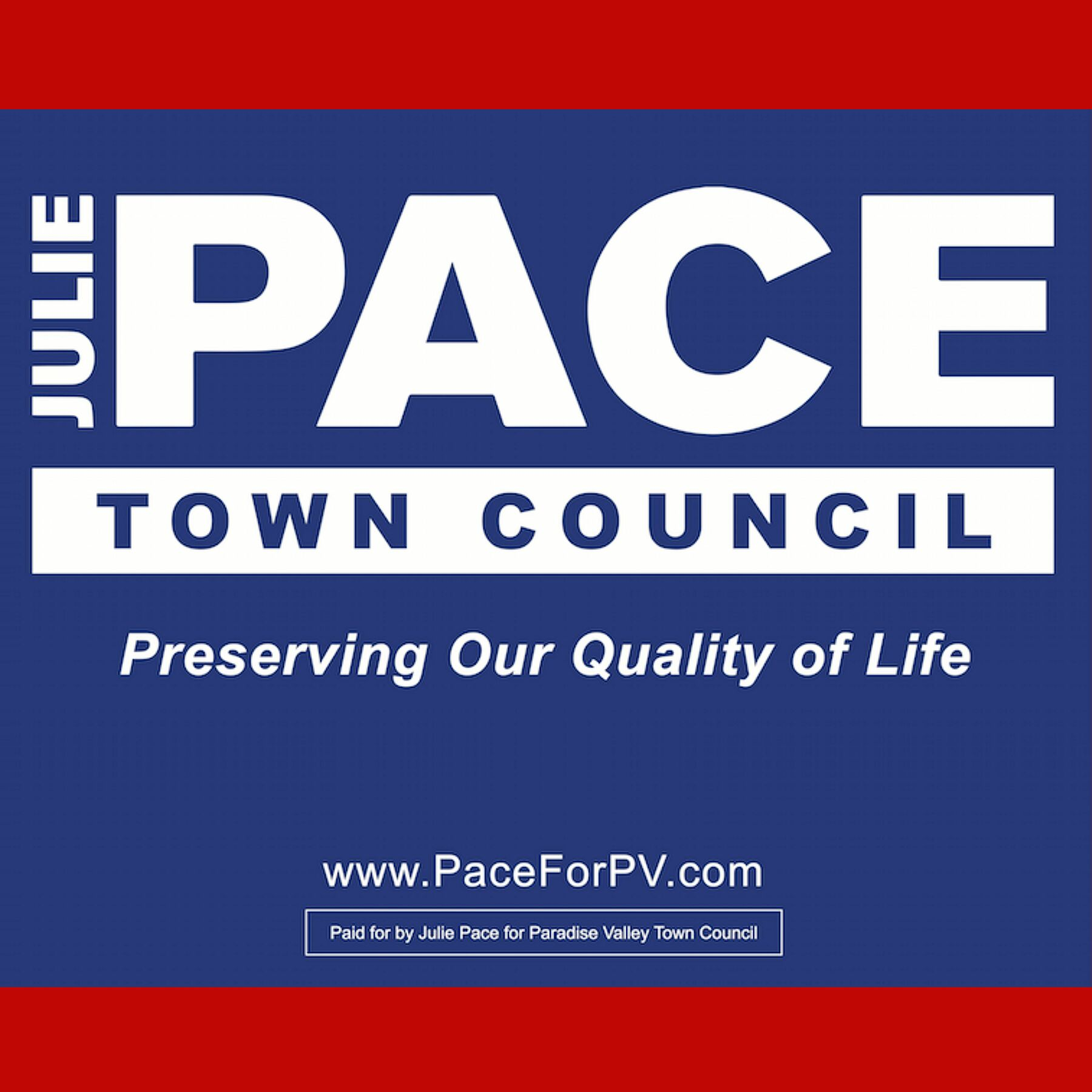 Julie Pace For PV Council: Julie Pace for PV Council