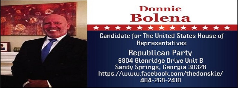 Donnie Bolena for Congress Georgia - 6: Donnie Bolena For Georgia - 6