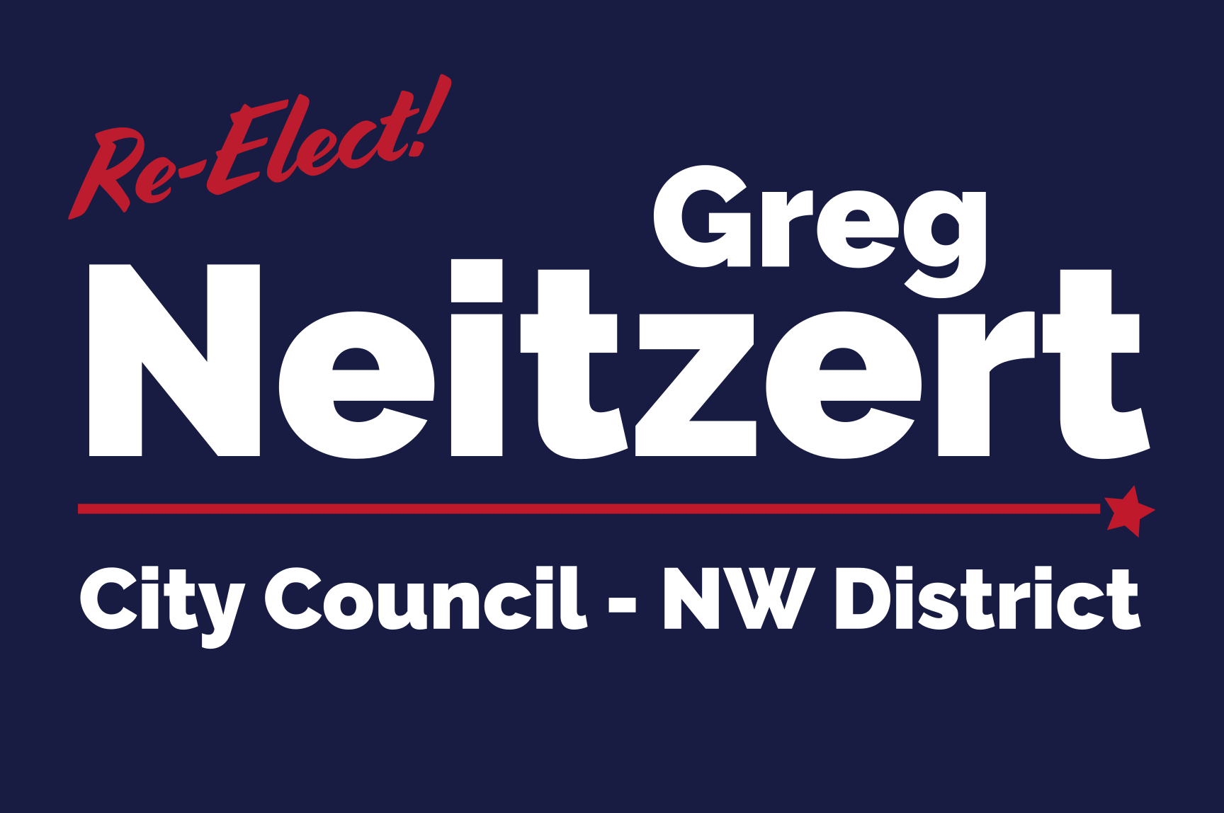 Greg Neitzert for City Council: General Fund