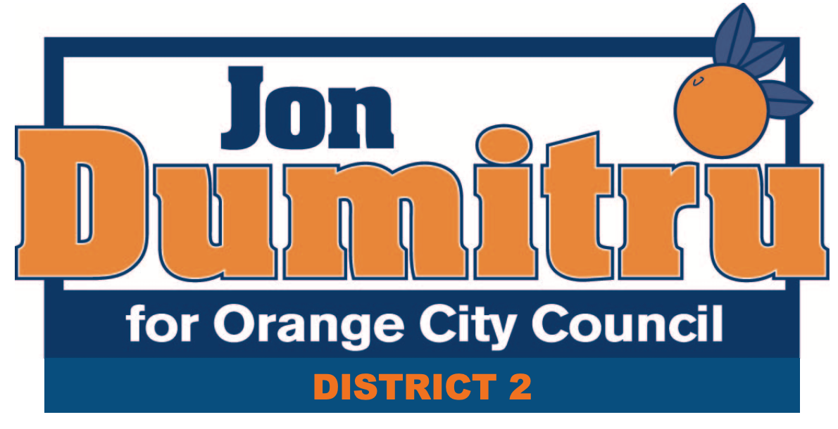 Jon Dumitru for Orange City Council: Jon Dumitru for Orange City Council