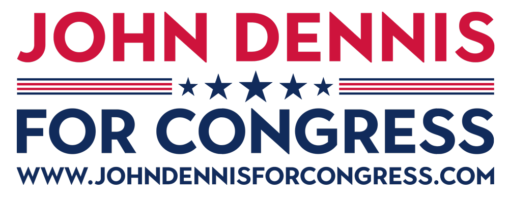 John Dennis for Congress 2022: Website Donation Page 2022