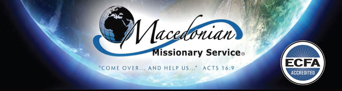Macedonian Missionary Service: Ministry Fund