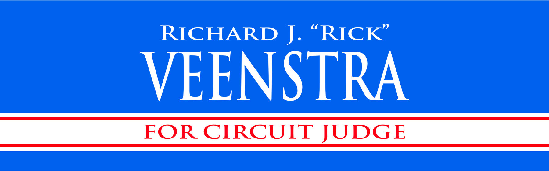 Veenstra for Judge: General Fund