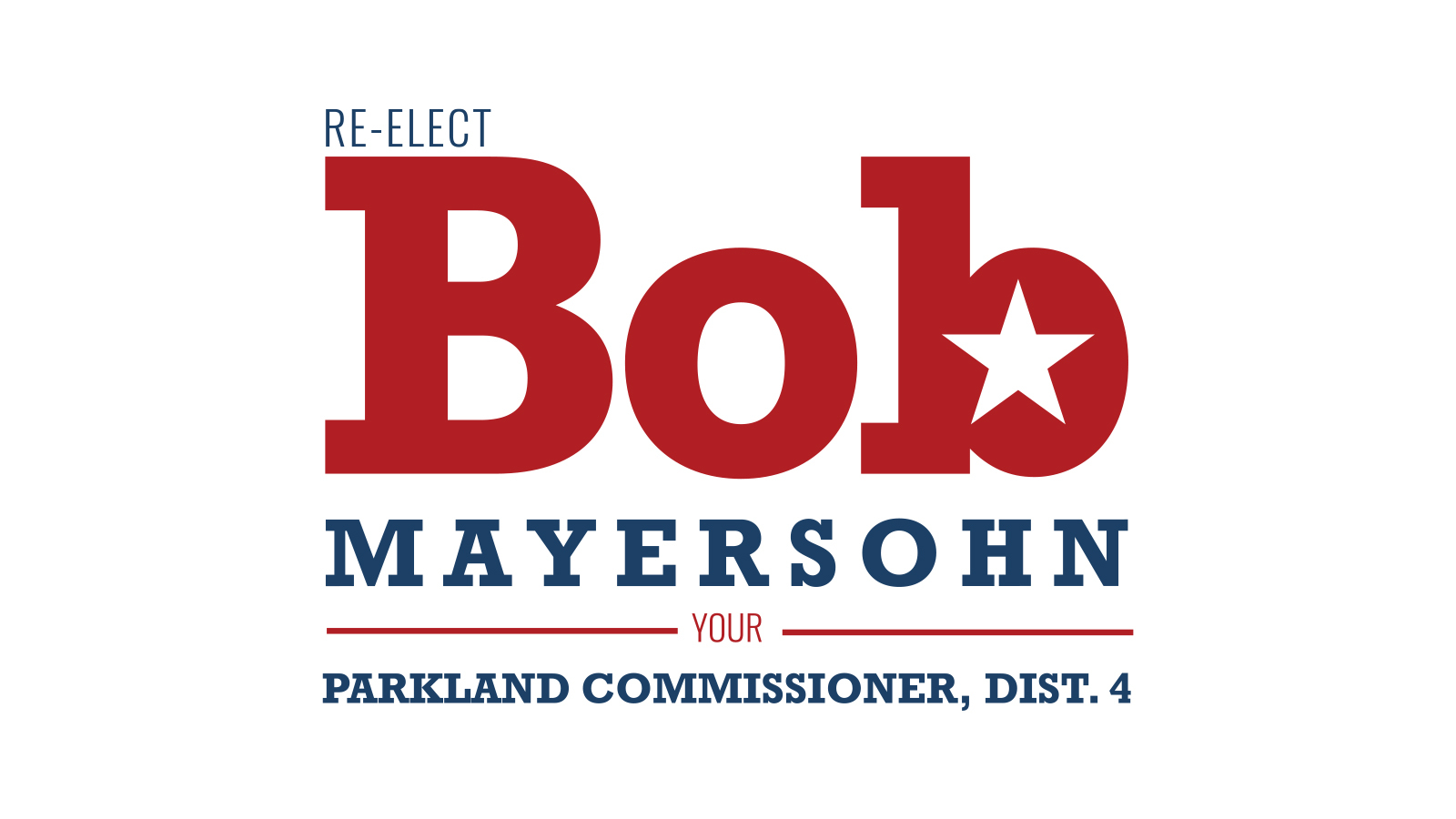Bob Mayersohn for Parkland City Commissioner, Dist. 4: City Commission 2020