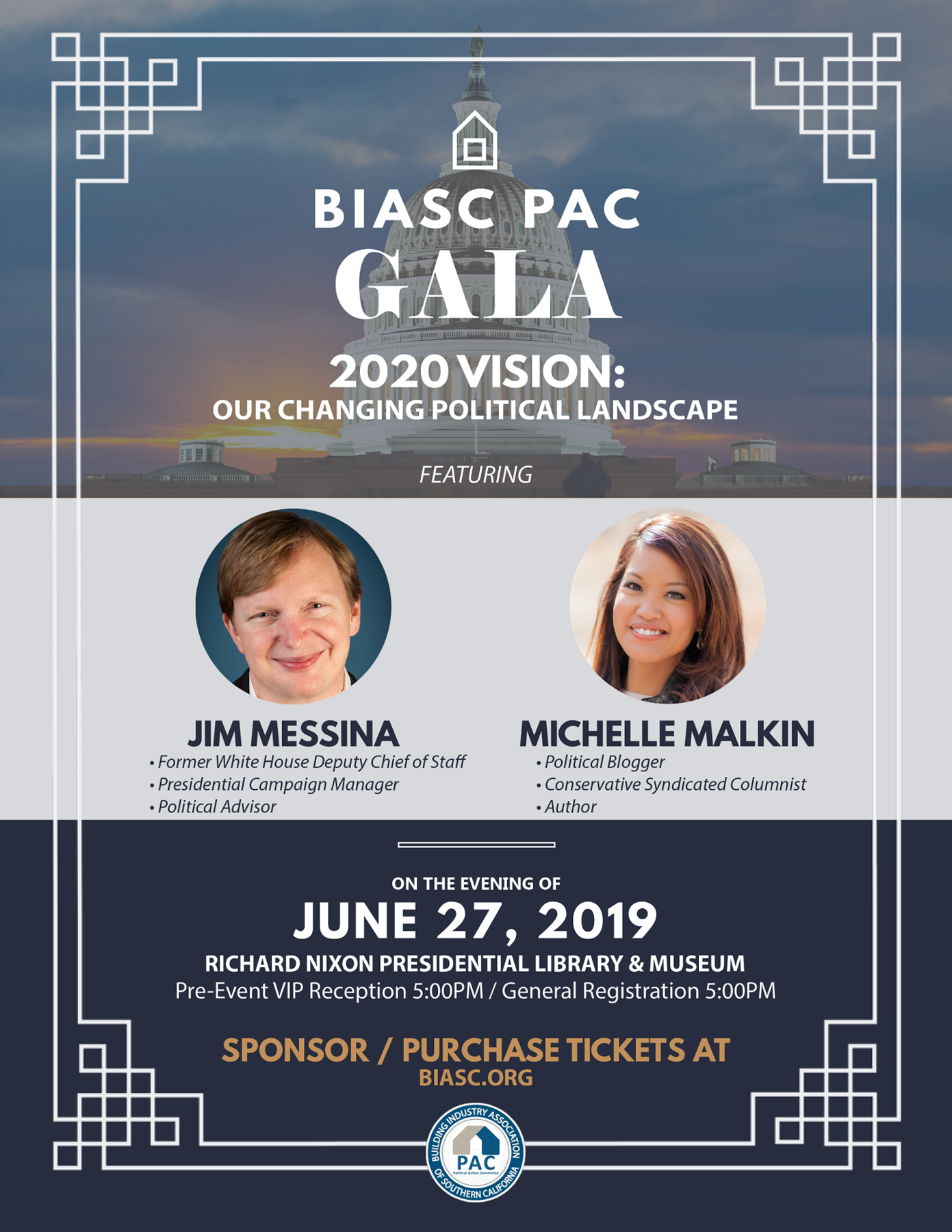 Building Industry Association of Southern California PAC: 2019 BIASC PAC Gala